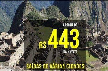 Promoção tem passagens para Lima e Cusco a partir de R$ 443 ida e volta