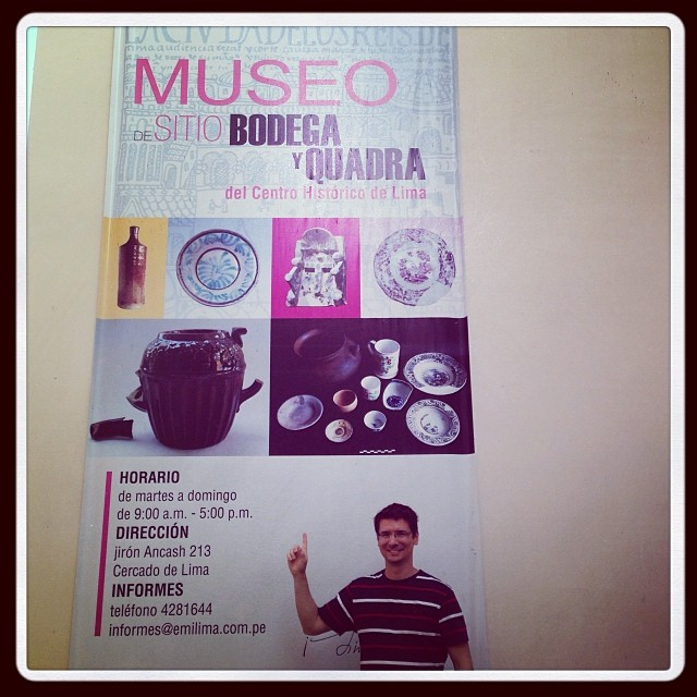 Museo de Sitio Bodega y Quadra - Lima - #machupicchubrasil