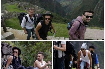 One Direction visitou Machu Picchu