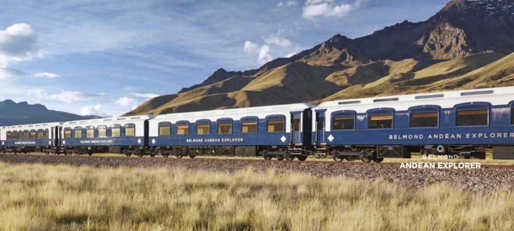 Rota do Sol, Peru, Trem Andean Explorer