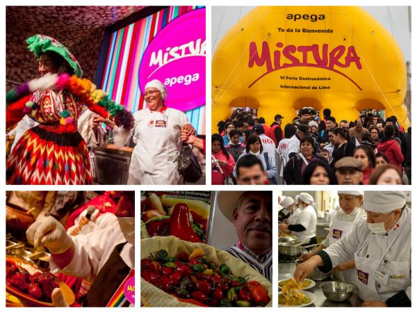 Feira de Gastronomia Mistura Lima