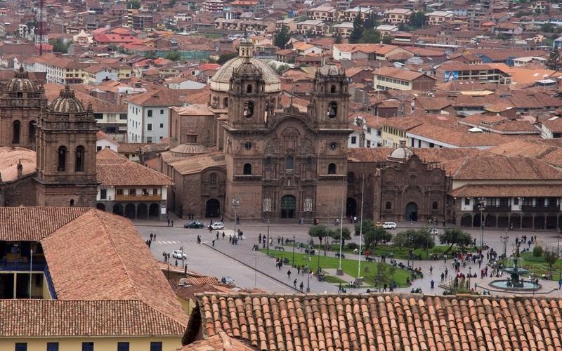 Cidade de Cusco (Cuzco), no Peru