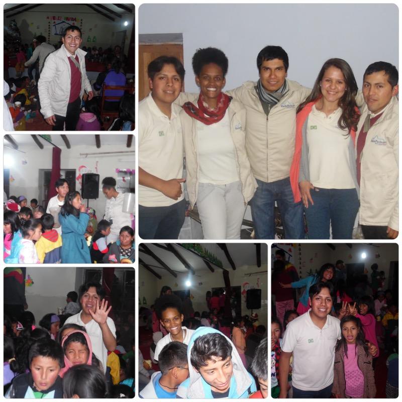Festa de Natal Machu Picchu Brasil 2014