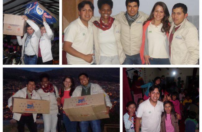 Festa de Natal da Machu Picchu Brasil 2014