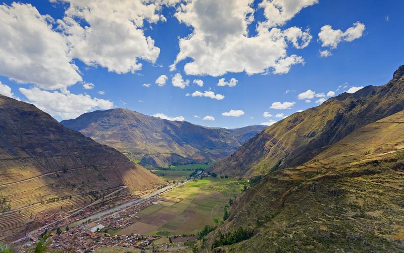 Pisac, Rio Urubamba, Cusco/Cuzco, Peru