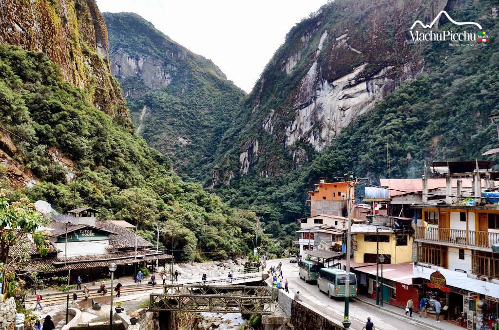 Águas Calientes ou Machu Picchu Pueblo - Machu Picchu Brasil