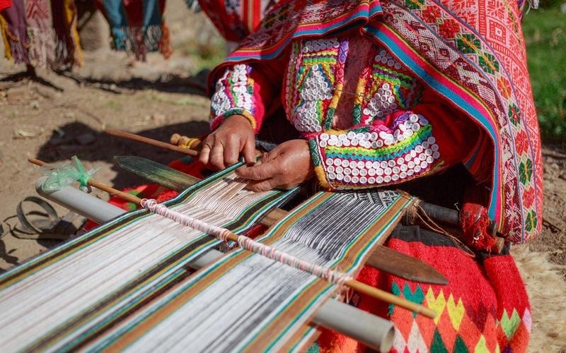 Artesanato peruano: Rico em cores e texturas