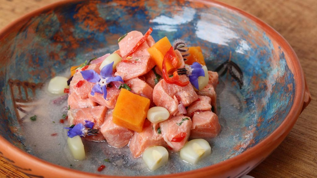 Trout Ceviche, Hotel JW Marriott Cusco