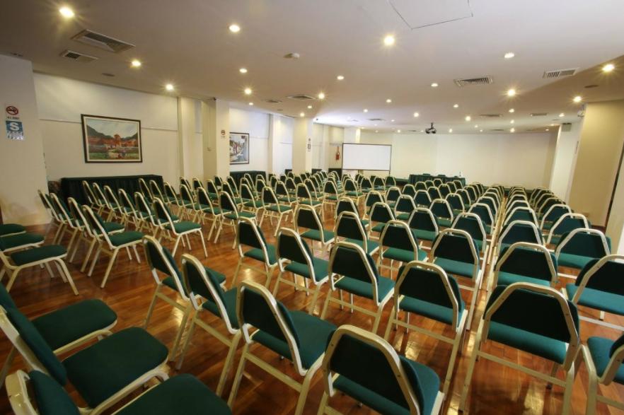 Sala de Eventos do Hotel Jose Antonio, em Cusco, no Peru