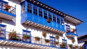 Fachada do Hotel Royal Inka I, em Cusco