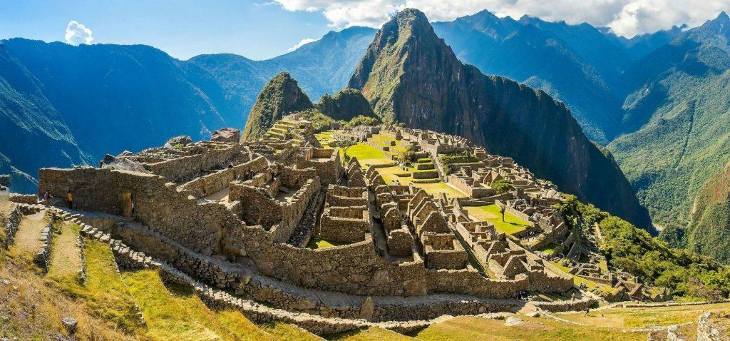 Machu Picchu, no Peru