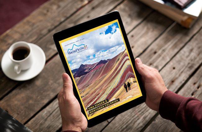 Lançamento: Revista Machu Picchu Brasil – Viagem à Montanha Colorida