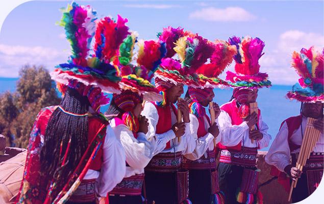 As cores do Peru - Foto Divulgação Transamerica Mundi