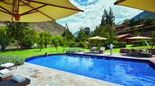 Piscina do Belmond Hotel Rio Sagrado