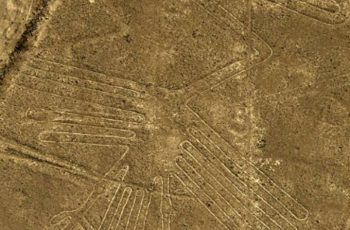 As famosas Linhas de Nazca no Peru