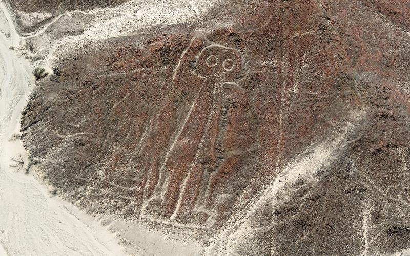 Linhas de Nazca, no Peru
