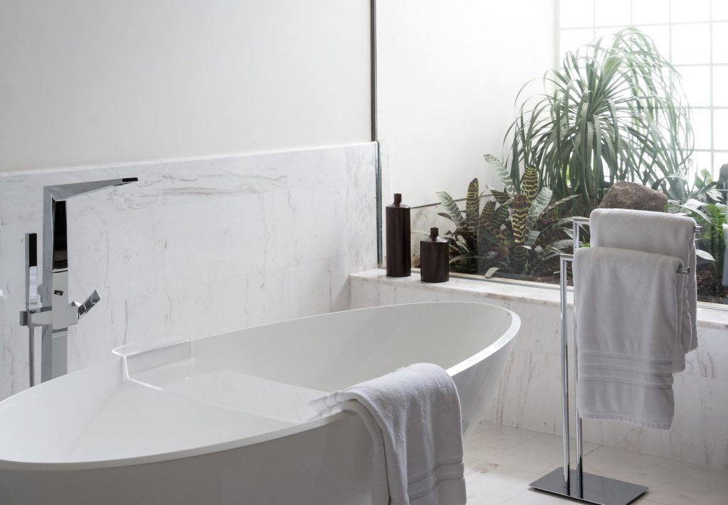 Banheiro da Suíte Presidential Pool, Belmond Lima