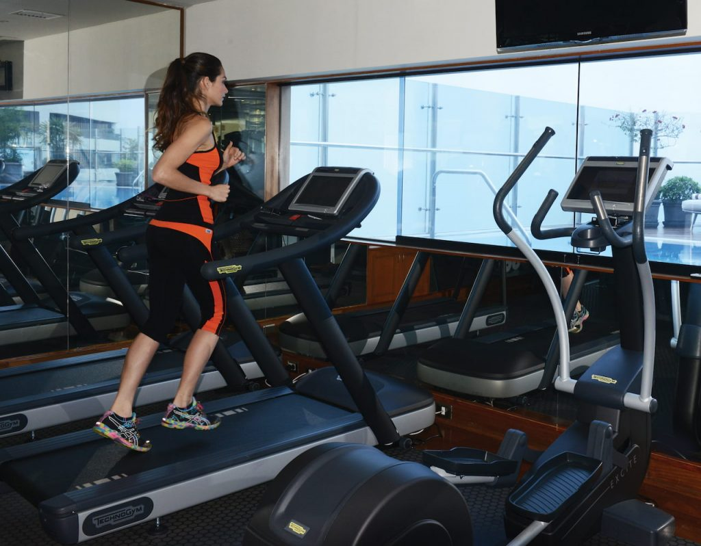 Fitness Center do Hotel Belmond, na capital peruana