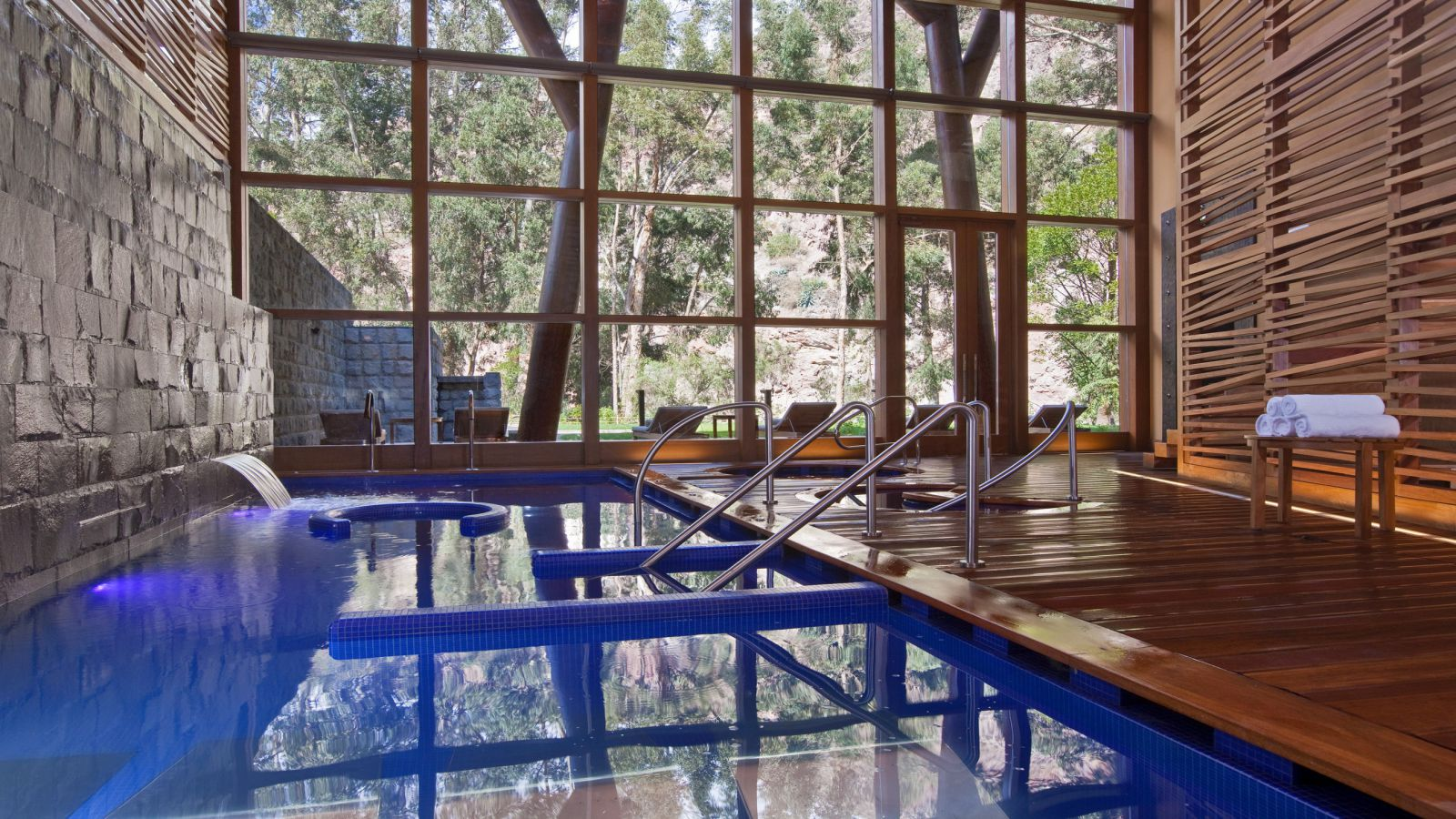 THE SPA, no Hotel Tambo del Inka