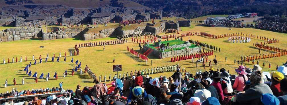 Inti Raymi (Festa do Sol), no Peru