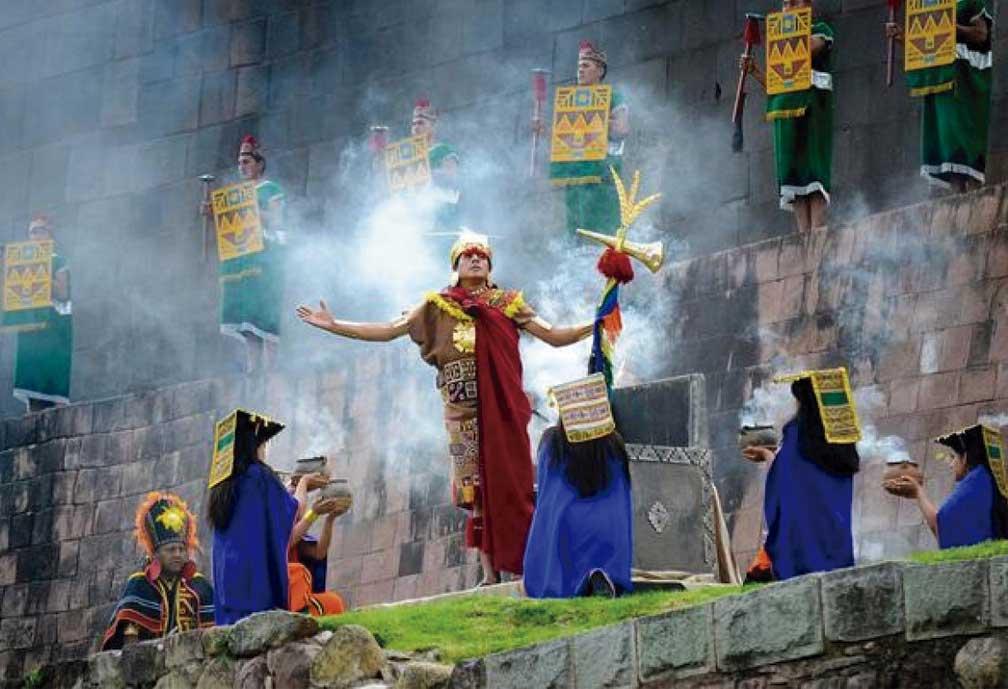 Inti Raymi ou Festa do Sol, no Peru