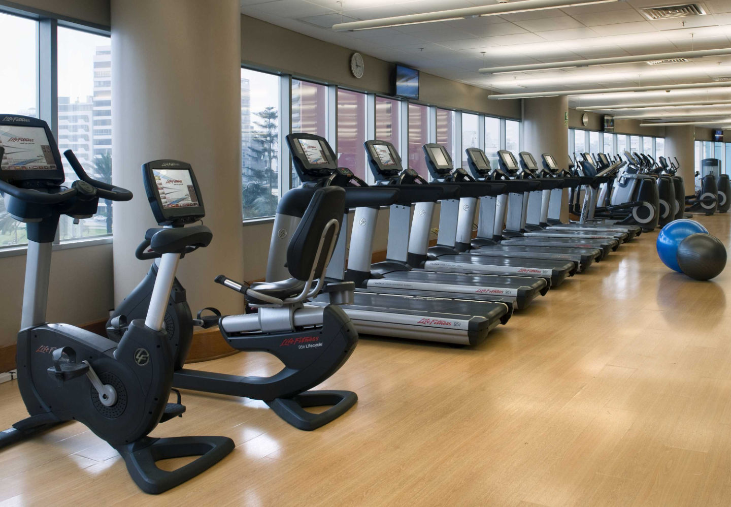 Fitness Center no JW Marriott Hotel Lima