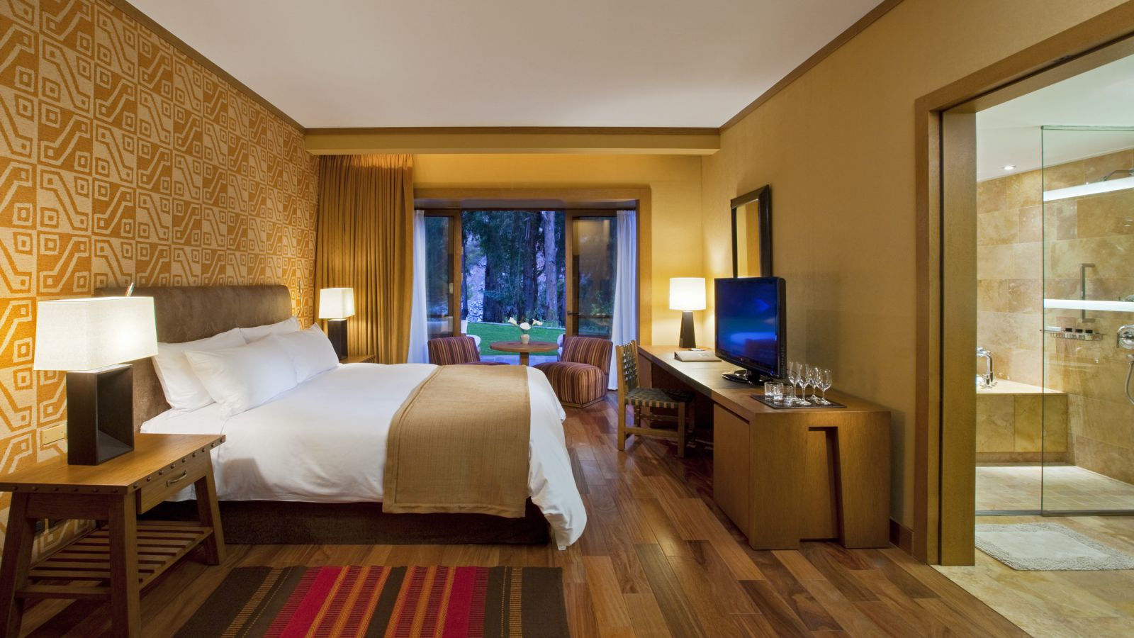 Quarto Deluxe do Hotel Tambo del Inka, no Vale Sagrado