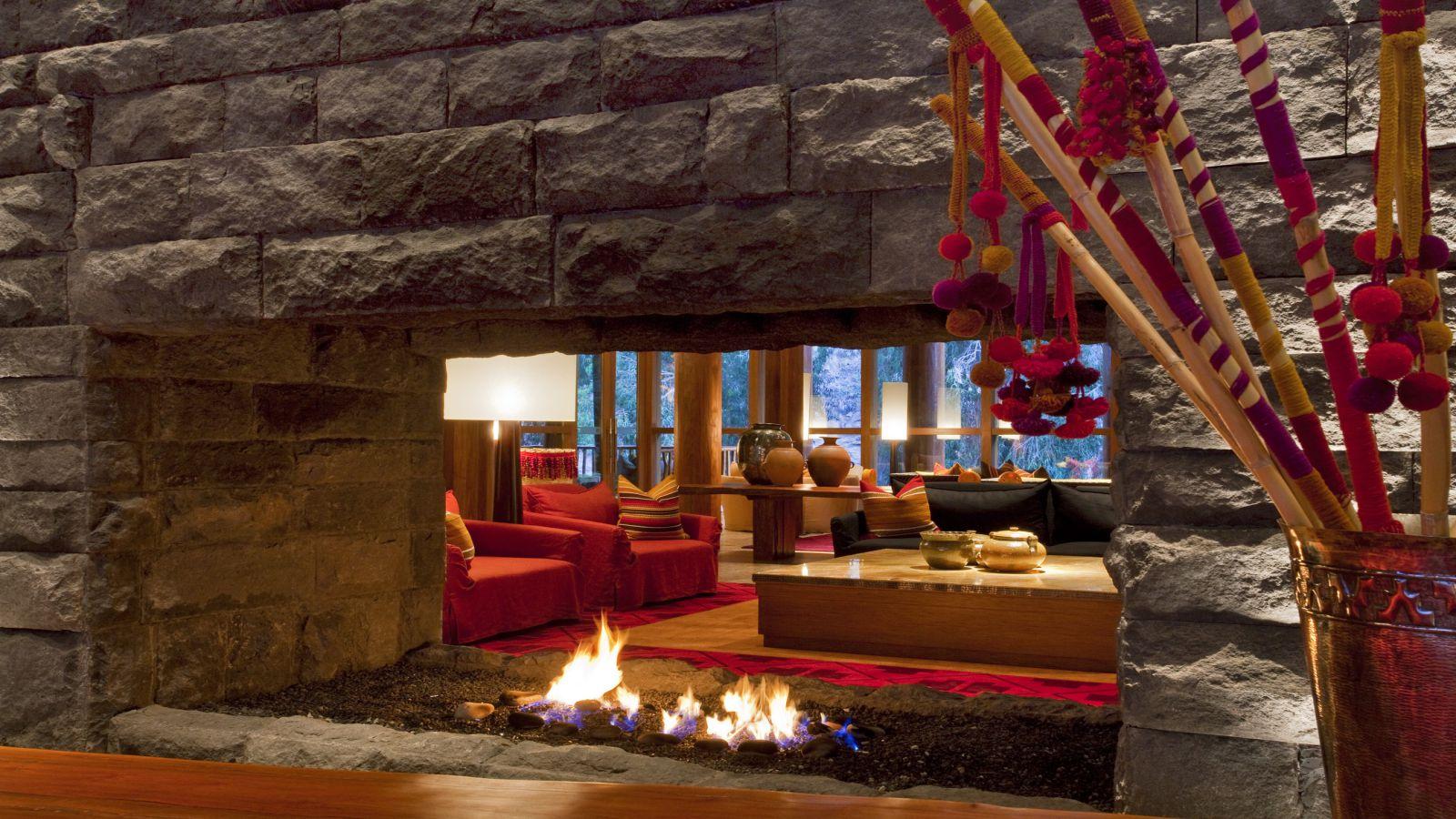 Lobby do Tambo del Inka