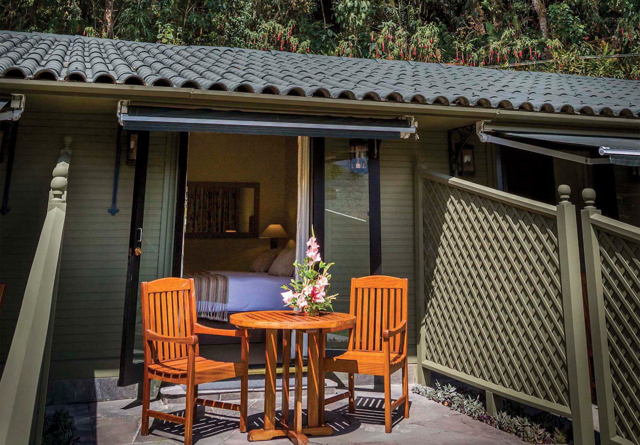Quarto Deluxe, no Hotel Luxo Belmond Sanctuary Lodge, em Machu Picchu