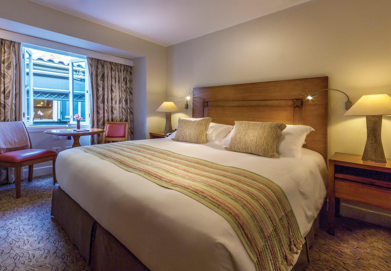 Quarto Standard, no Hotel Luxo Belmond Sanctuary Lodge, em Machu Picchu