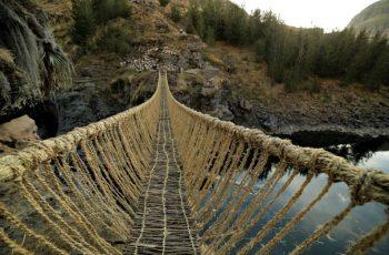 Encante-se com a ponte Q'swachaka, nova atração de Cusco