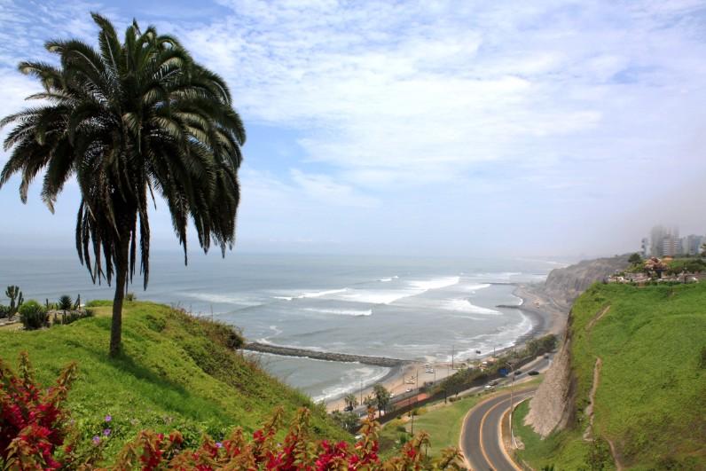 Pontos turísticos em Lima - miraflores