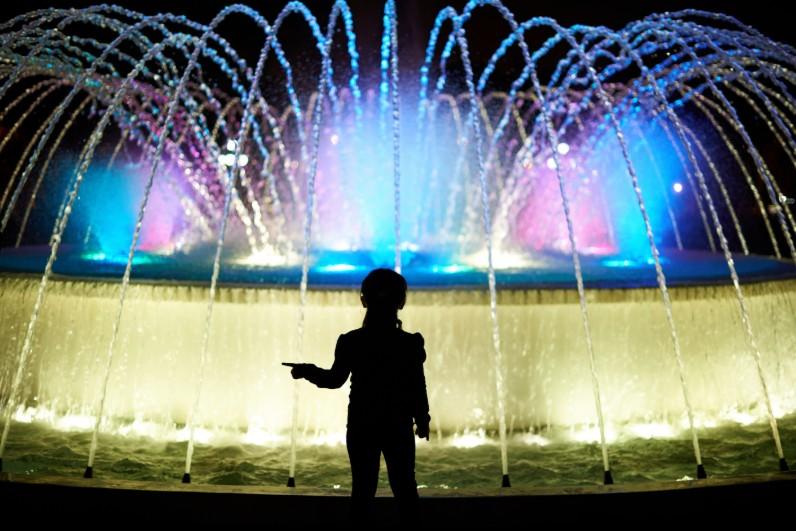 Pontos turísticos em Lima - circuito das águas