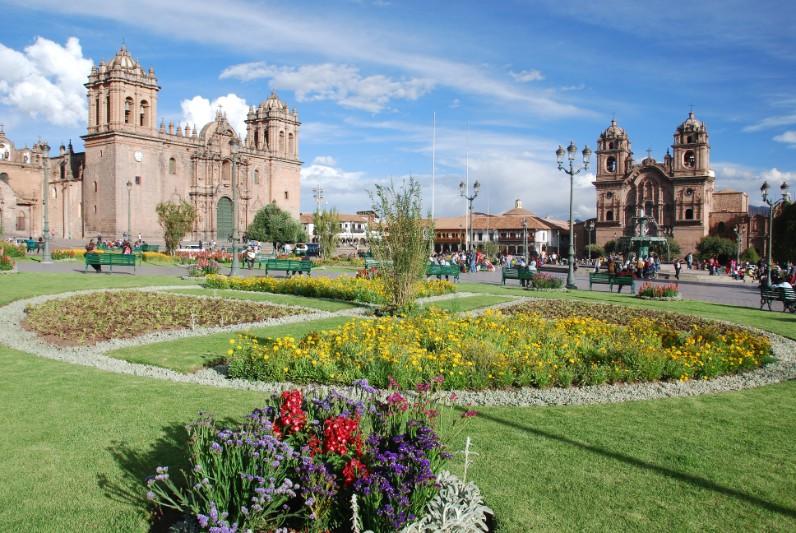 ponto turistico em Cusco: plaza de armas