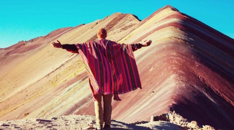 Montanha colorida : pontos turisticos