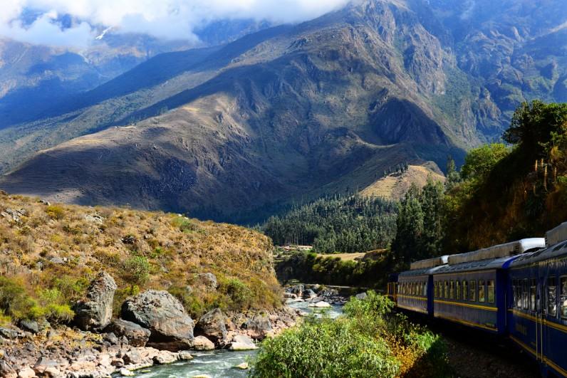 Chegar em Machu Picchu de Trem