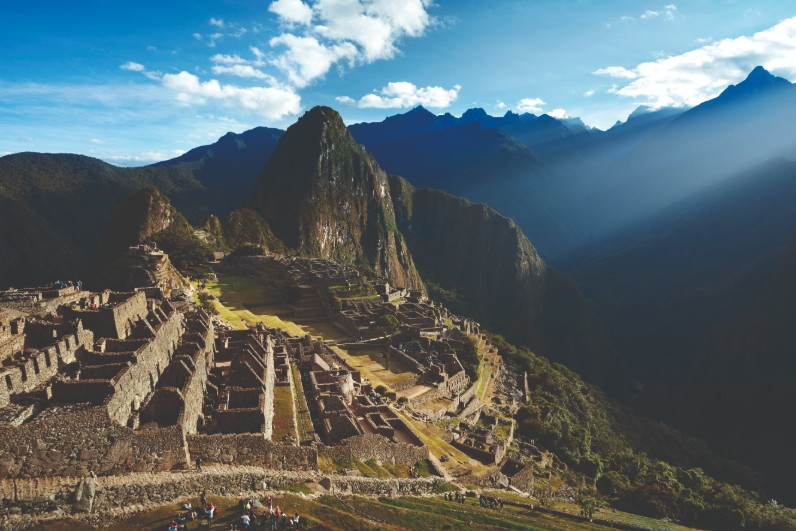 Machu Picchu em dezembro