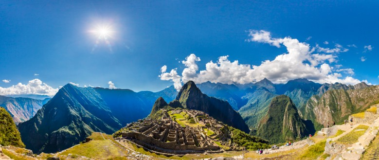 Machu Picchu em janeiro