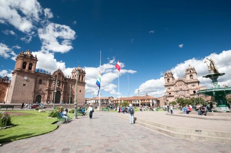 Plaza del armas em Cusco