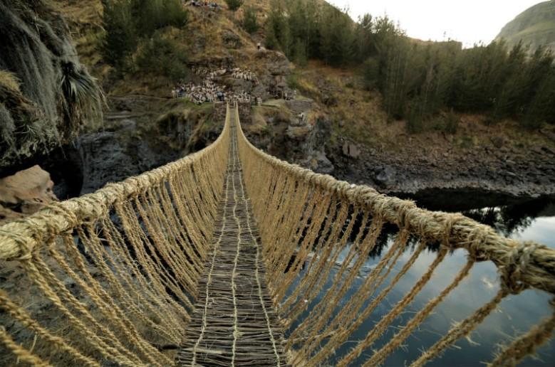 ponte Q'swachaka: pontos turisticos em Cusco
