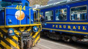 Trem de machu picchu para Cusco