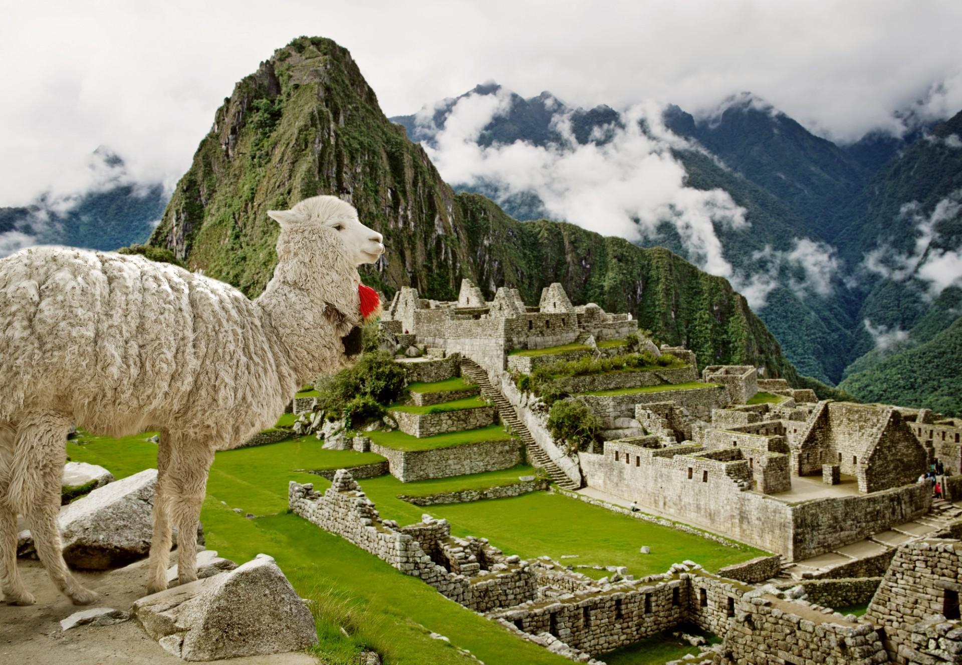 Carnaval em Machu Picchu