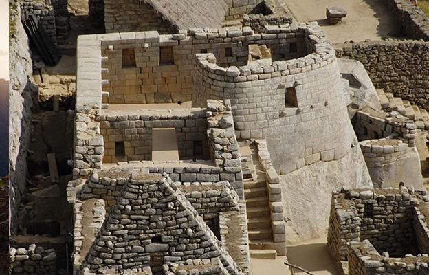 A construção de Machu Picchu