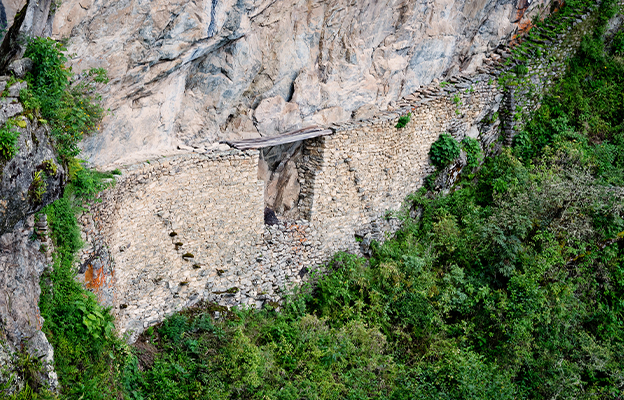 O que fazer em Machu Picchu - Conheça a Ponte Inca
