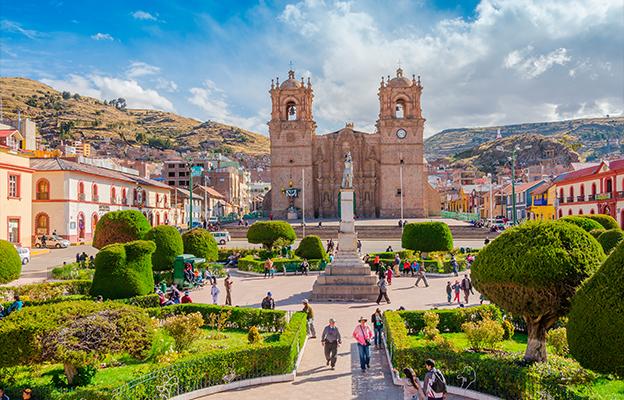 Puno, no Peru